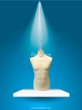 Busto Caballero Talla 50 Anatómico